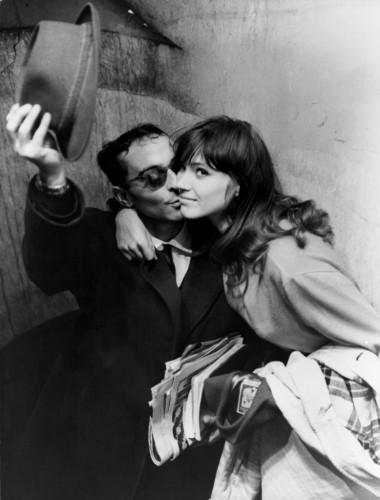 1960 Jean-Luc Godard , Anna Karina Paris