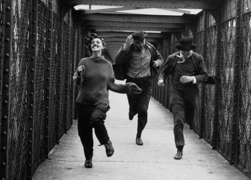 Jules et Jim - François Truffaut -1961 - Jeanne Moreau, Henri Serre, Oskar Werner - Charenton-le-Pont - Paris