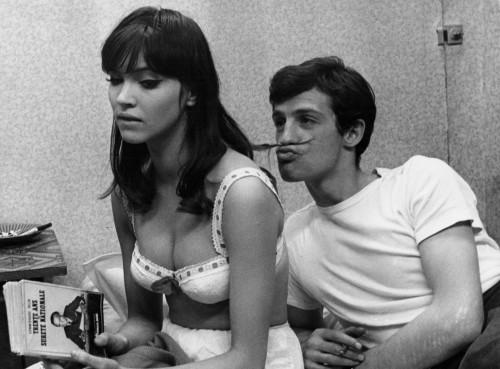 Une femme est une femme - Jean-Luc Godard -1960 - Anna Karina, Jean-Paul Belmondo - Champs Elysees Paris