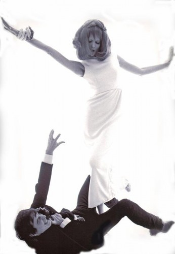 David Bailey & Veruschka London, 1964