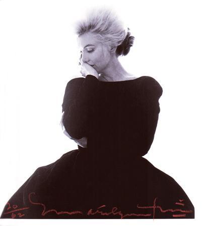 Marilyn Black Dress 1962