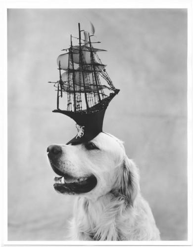 Bruce Weber  Skye Dog and Hat