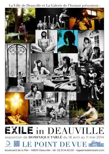 Dominique Tarlé Expo hors les murs Festival Livres & Musiques de Deauville du 18 avril au 11 mai.