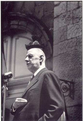 François Gragnon Charles de Gaulle St Flour, 1959