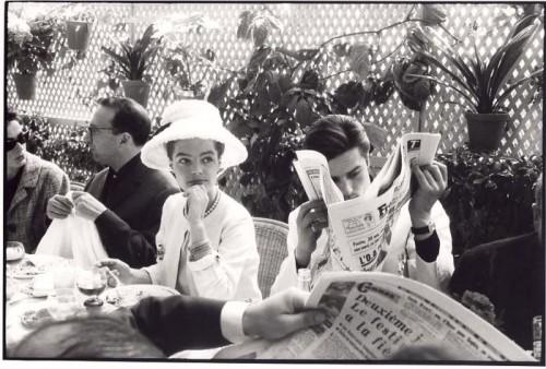 François Gragnon Romy Schneider et Alain Delon Cannes, 1962