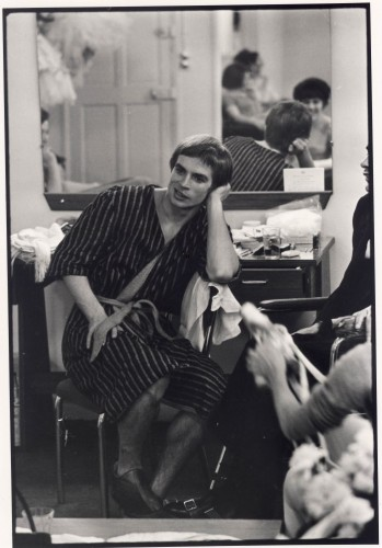 François Gragnon Rudolf Noureev dans sa loge
