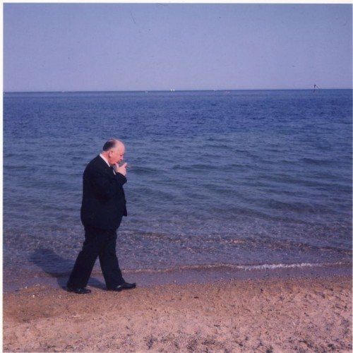 François Gragnon Alfred Hitchcock Cannes, 1963