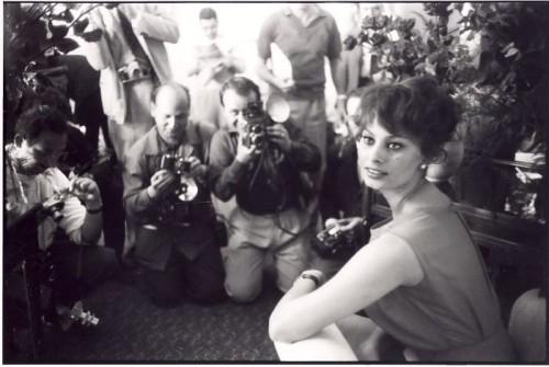 François Gragnon Sofia Loren Cannes