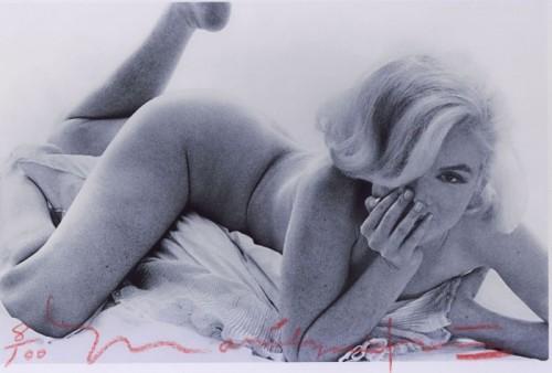 Marilyn Monroe La dernière séance 1962 Nue