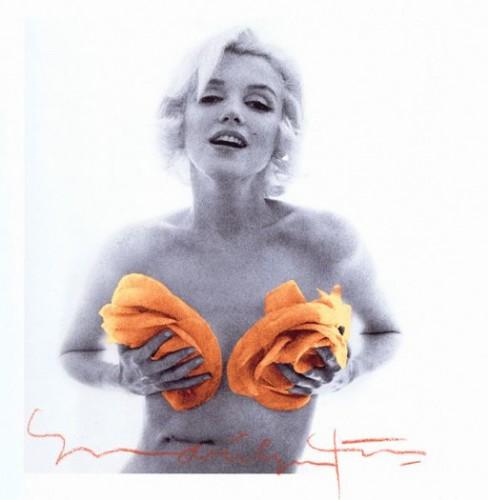Marilyn Monroe La dernière séance, 1962 orange roses