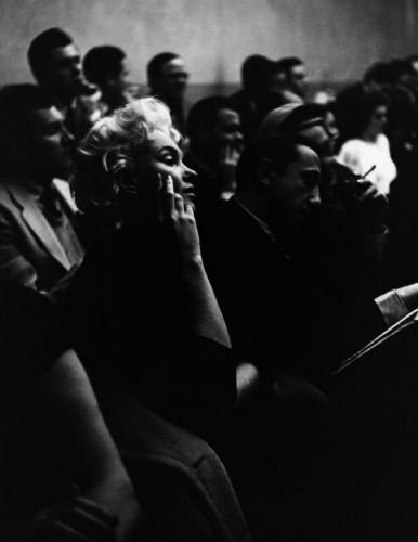 Roy Schatt Marilyn Monroe  NY, 1955 Actor's Studio
