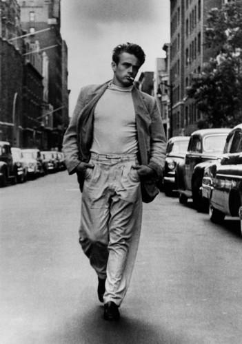 Roy Schatt James Dean  NY, 1954