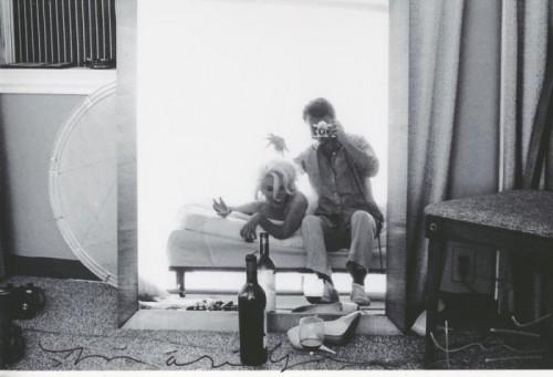 Self portrait Bert Stern self portrait avec Marilyn Monroe