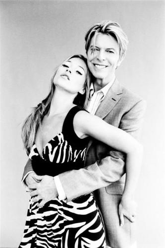 Kate Moss and David Bowie Ellen Von-Unwerth