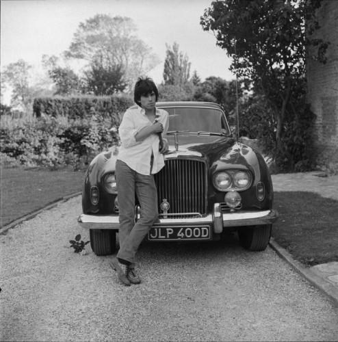 Keith Richards and Bentley