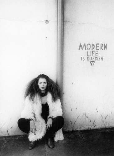Corinne Day  Heaven is Real Kate Moss Modern Life is Rubbish