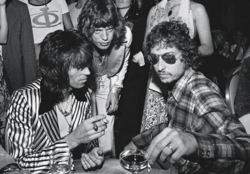 Mick Jagger  Mick Jagger's 30th birthday with Bob Dylan 1972
