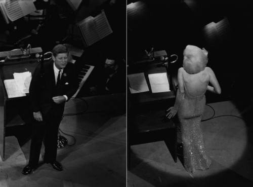 Bill Ray Happy Birthday Mr President , Madison Square Garden, NY, 1962