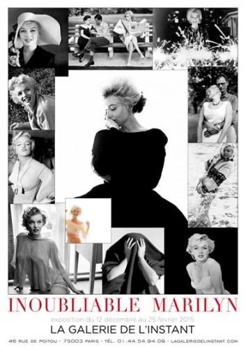 Affiche de l'exposition Inoubliable Marilyn