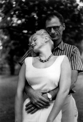 Marilyn Monroe avec Arthur Miller 1957