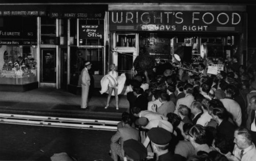Sam SHAW The Seven Year Itch, NY, 1954