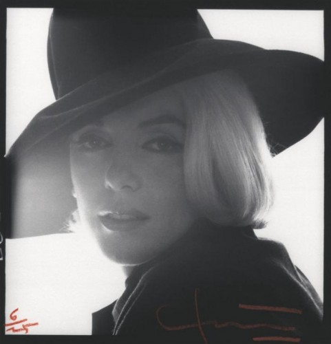 Bert Stern Black Hat, shooting for Vogue, LA, 1962