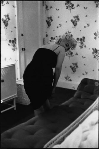 Ed Feingersh shooting for Redbook, NY, 1955