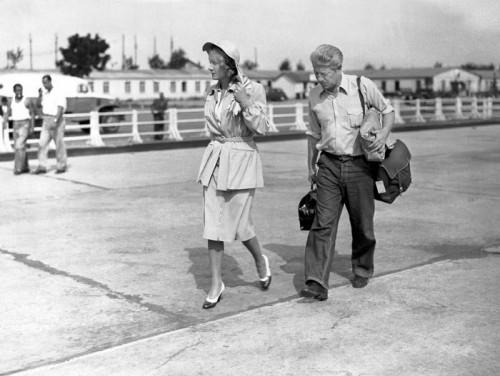 Marlène et Gabin 1946
