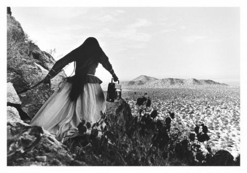 Graciela Iturbide Mujer Angel, Sonora Desert 1979
