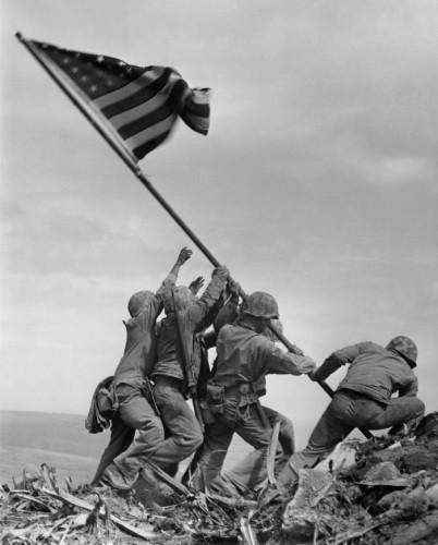 Joe Rosenthal  Iwo Jima, (Pulitzer Prize),1945