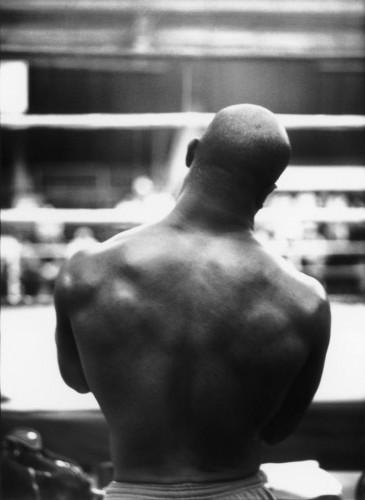 Richard Aujard Evander Holyfield, champion du monde des poids lourds, Las Vegas Caesars Palace, 1995