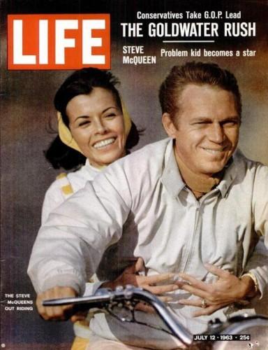 Couverture du Life du 12 Juillet 1963 ou figurent quelques photos de John Dominis présentées pendant l'exposition.