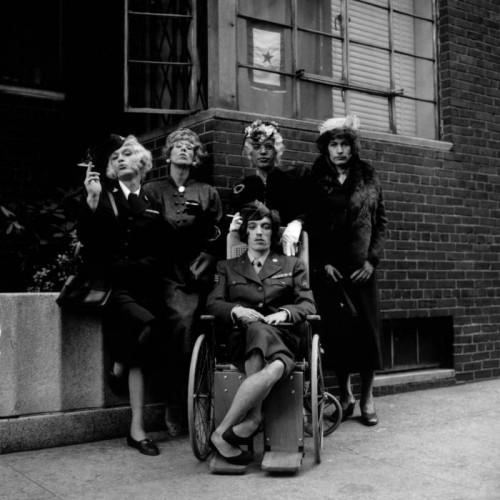 Jerry Schatzberg Stones in Drag, NY 1966