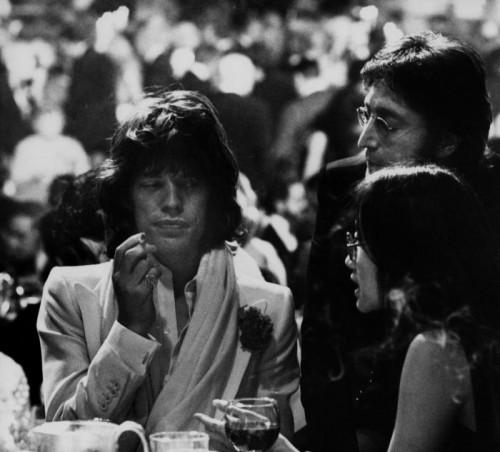 Ron Galella Mick Jagger John Lennon New York, 1974