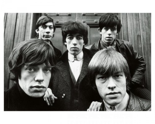 Terry O'Neill Rolling Stones in Hanover Square 1964