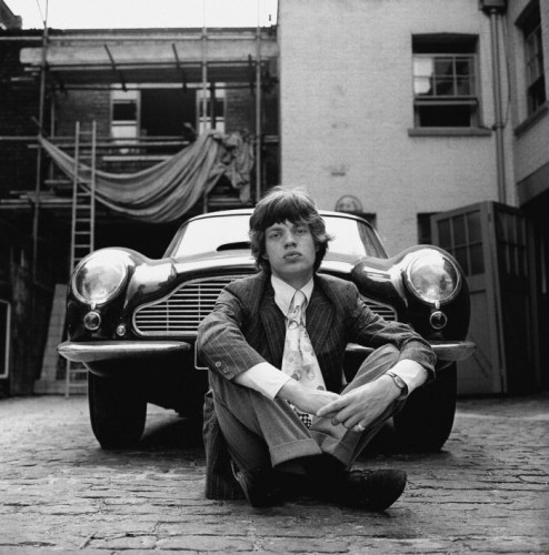 Gered Mankowitz Mike & Aston Martin, 1966