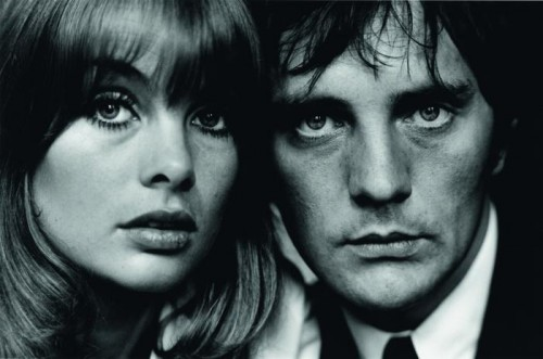jean Shrimpton & Terence Stamp  London, 1963