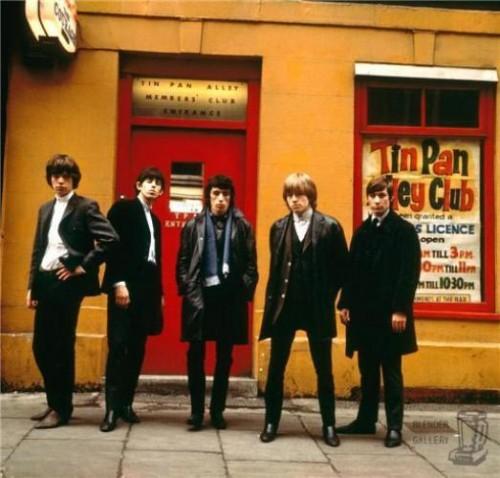 Stones Tin Pan Alley Londres, 1963