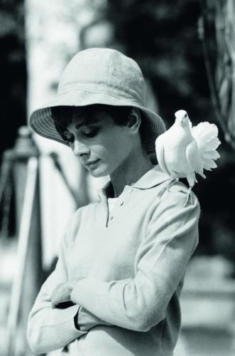Audrey Hepburn St Tropez, 1967