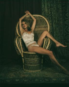 Kate in the chair, Mary McCartney