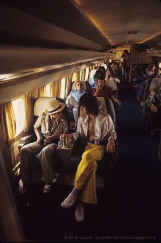 "Inside The Rolling Stones Plane 1972 ""Let it Bleed"""