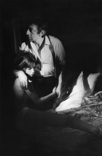 Serge Gainsbourg et Jane Birkin sur le tournage du film Cannabis en 1969