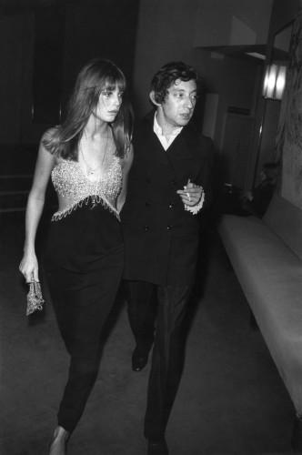 Serge Gainsbourg et Jane Birkin en 1968