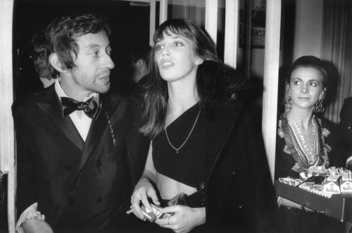 Serge Gainsbourg et Jane Birkin en tenue de soirée en 1969