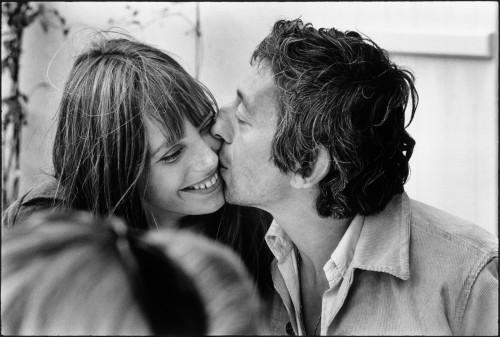 Serge Gainsbourg Jane Birkin Normandie, 1969 © Tony Frank