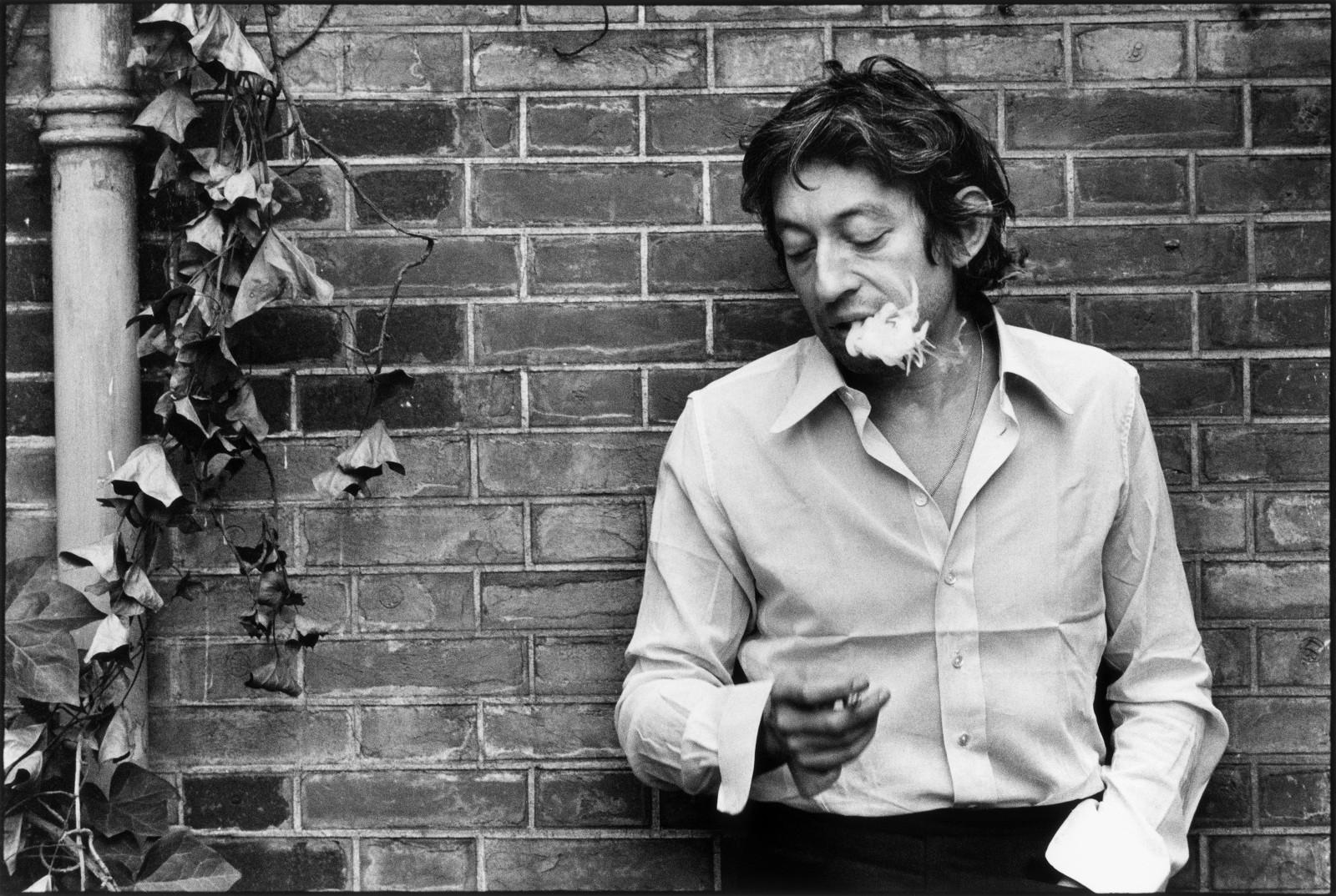 Serge Gainsbourg par Tony Frank