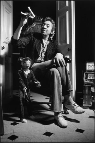Suzy, la marionnette, Paris, 1974 © Tony Frank