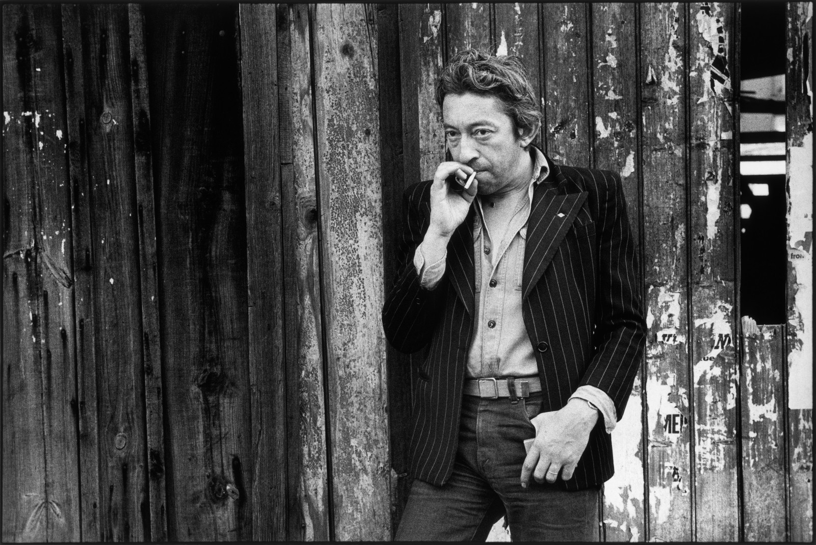 Paris, 1978 Serge Gainsbourg © Tony Frank