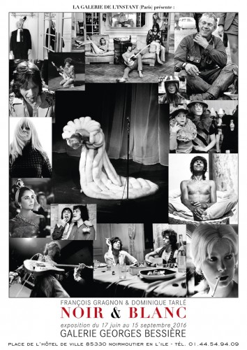 Affiche de l'exposition Noir & Blanc