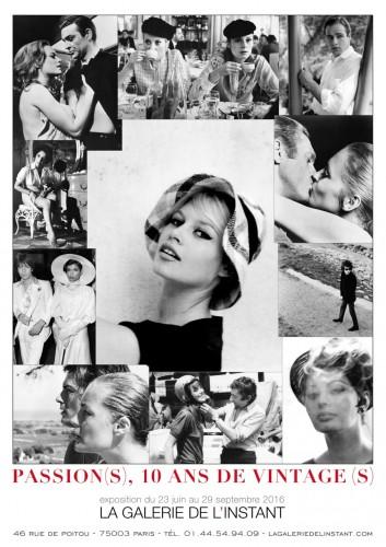 Affiche de l'exposition vintage